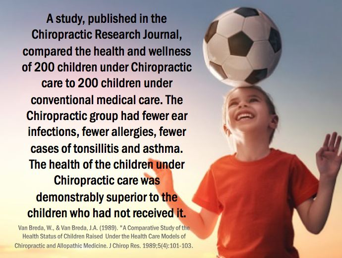 pediatric chiropractic facts, Whitehead Chiropractic in Austin TX